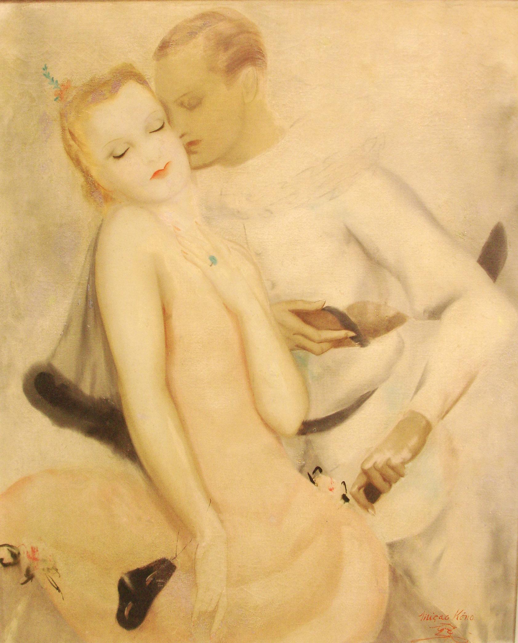 Huile sur toile. XXe siècle. Collection Olivier Berni Intérieurs