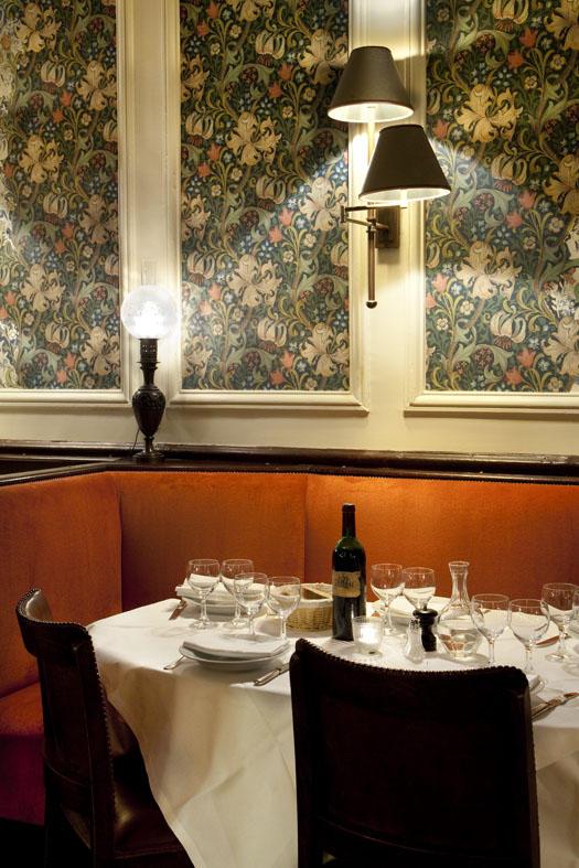 La Gauloise, 59 avenue de la Motte Piquet, 75015 Paris. Chantier réalisé en collaboration avec l'architecte d'intérieur Valérie Serin.