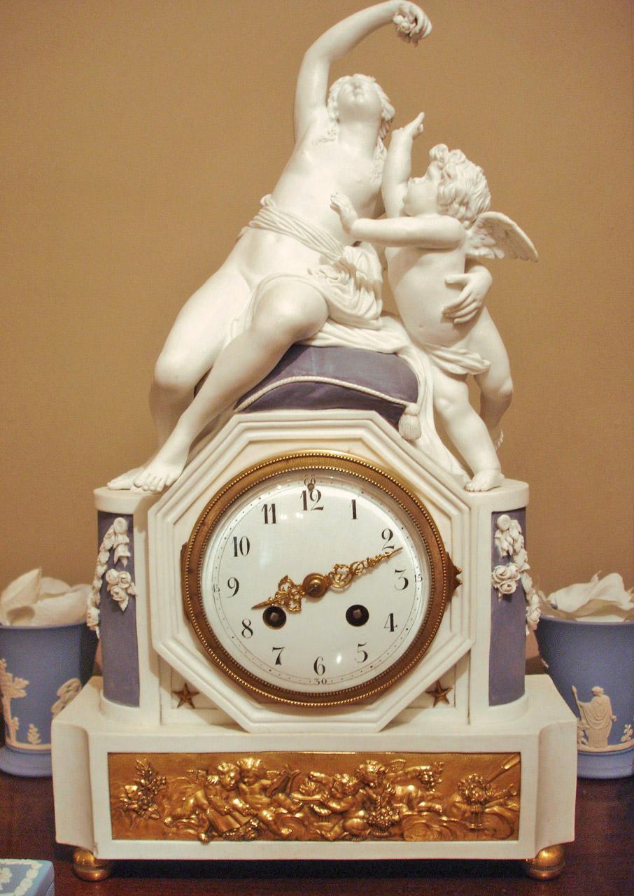 Horloge. Début XIXe siècle. Catalogue Olivier Berni Intérieurs