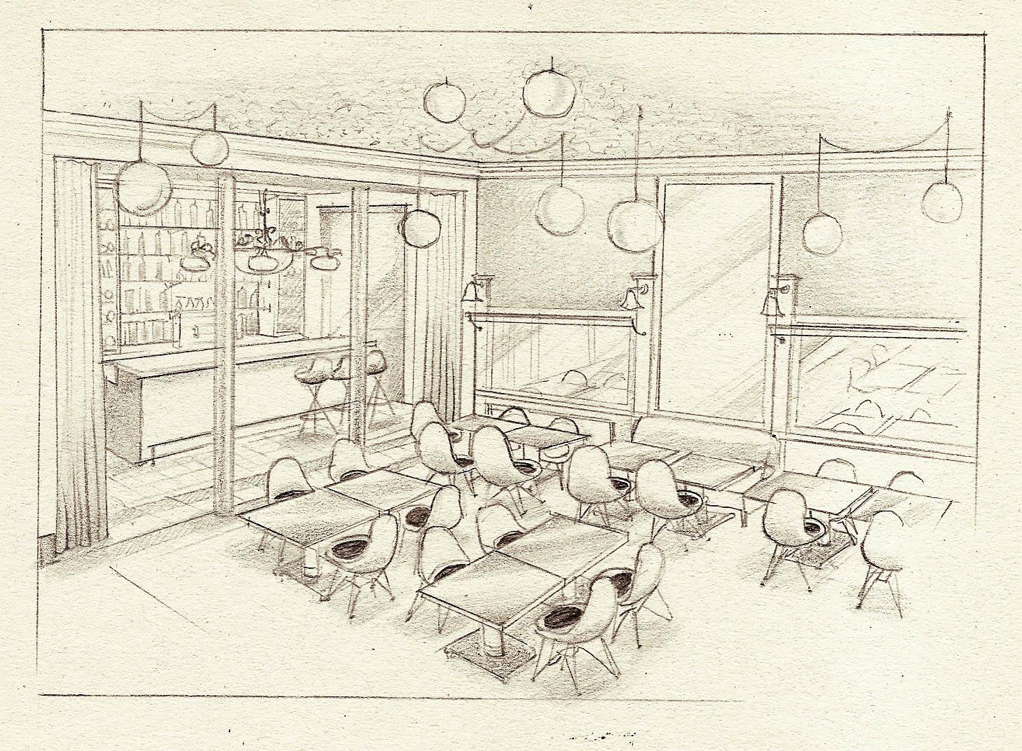 olivier berni interieurs restaurant marloe 8