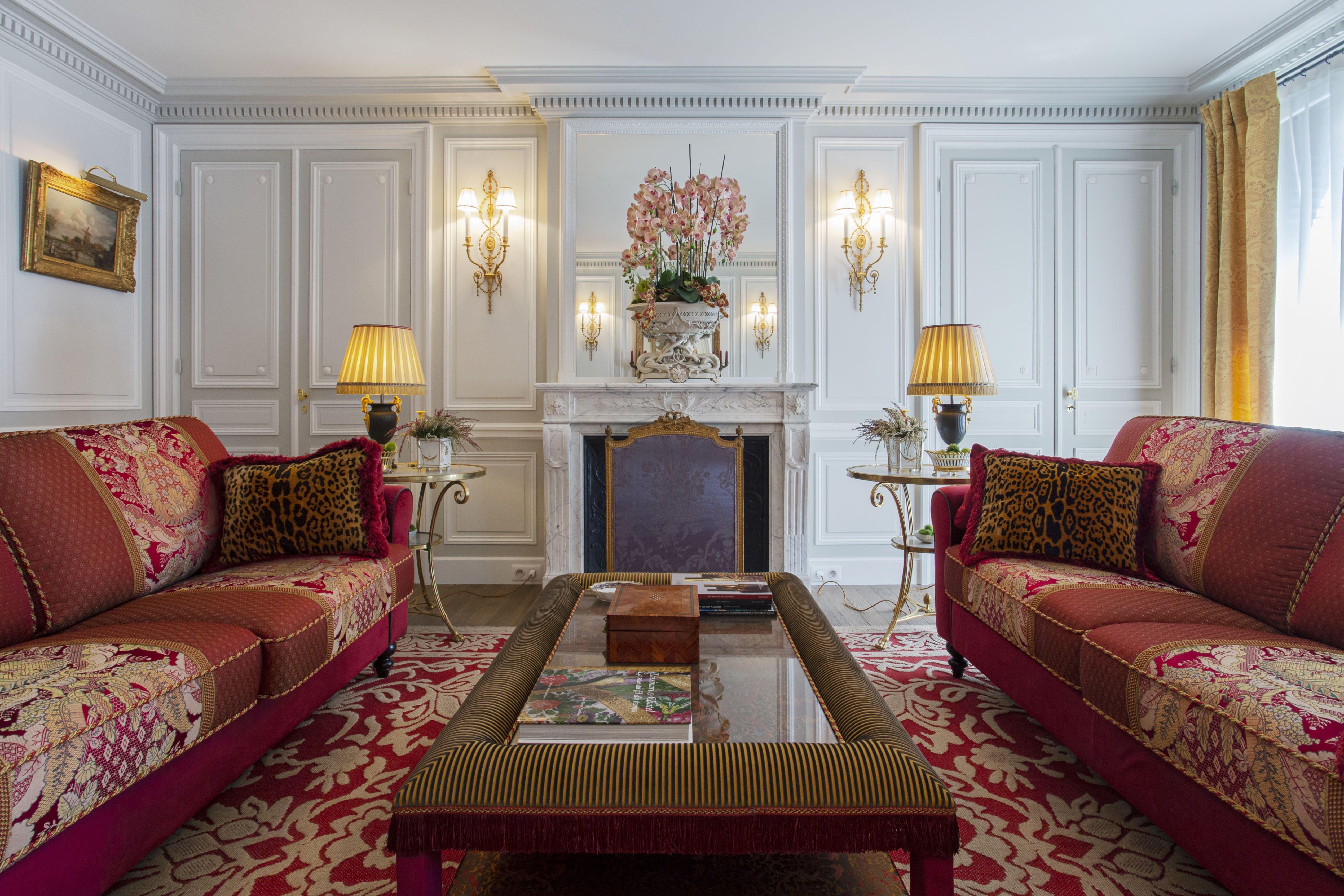 Olivier Berni Intérieurs agence décoration Paris architecture intérieure Saint sulpice paris France 3