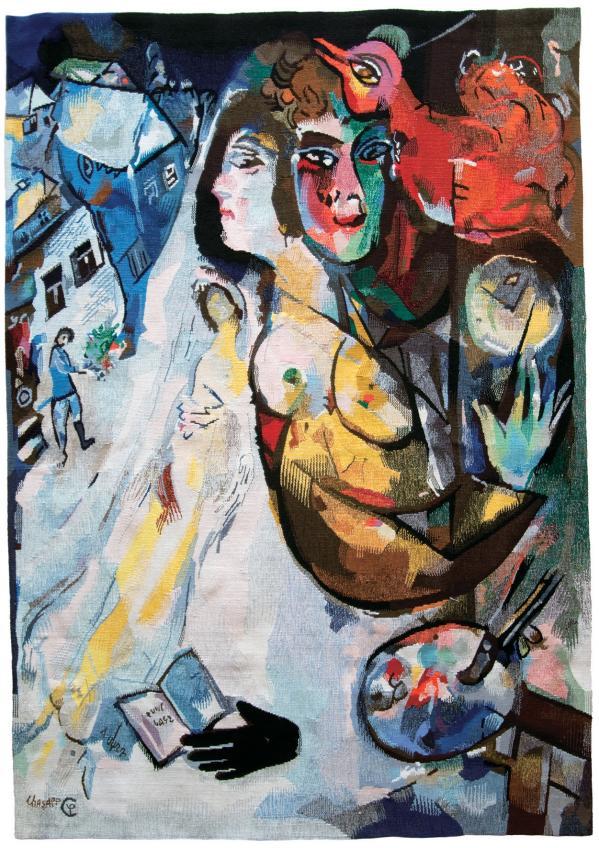 Chagall de la palette au m tier olivier berni interieurs for Biographie de marc chagall