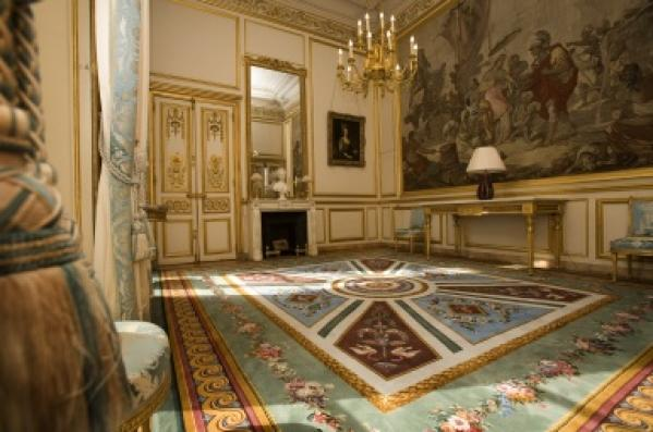 salon cleopatre decoration palais elysees