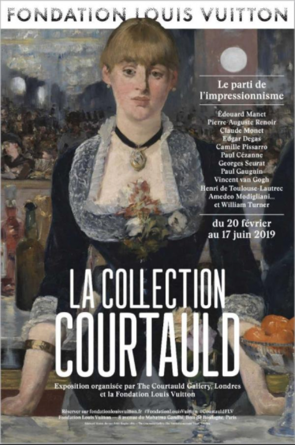 Exposition Samuel Courtauld Fondation LV 1