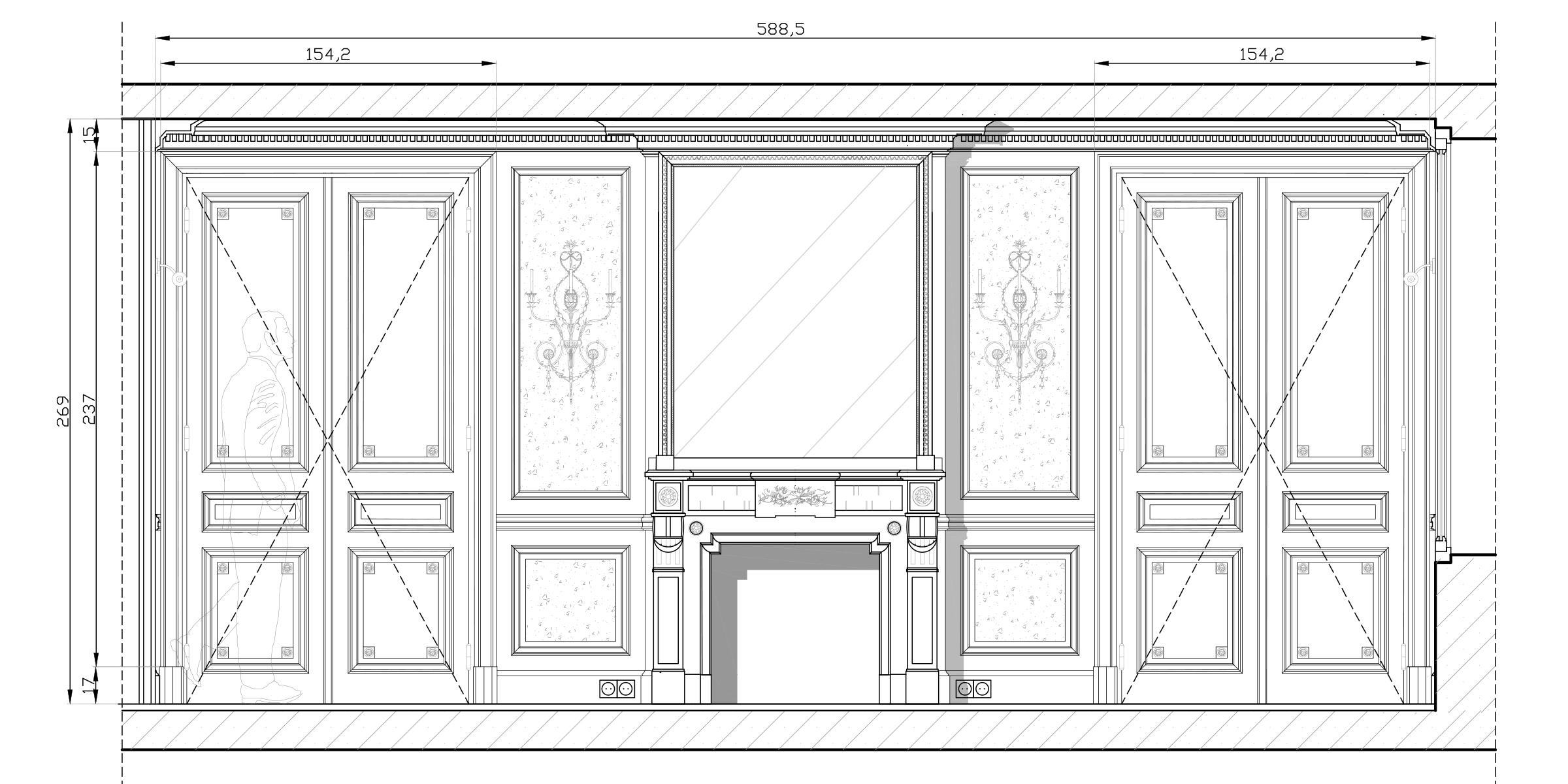 Olivier Berni Intérieurs agence décoration Paris architecture intérieure Saint sulpice paris France 10