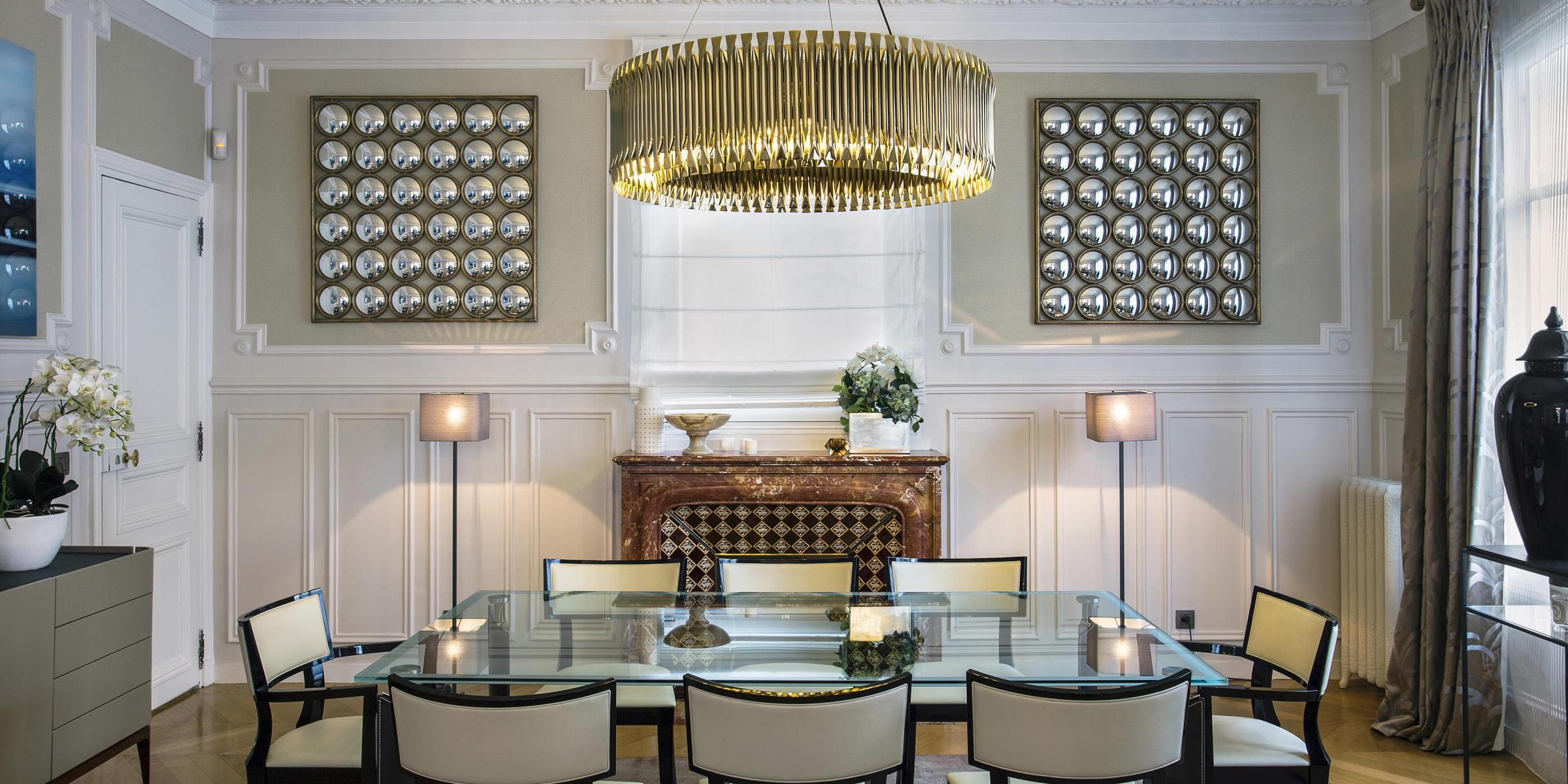 Hôtel particulier salle à manger