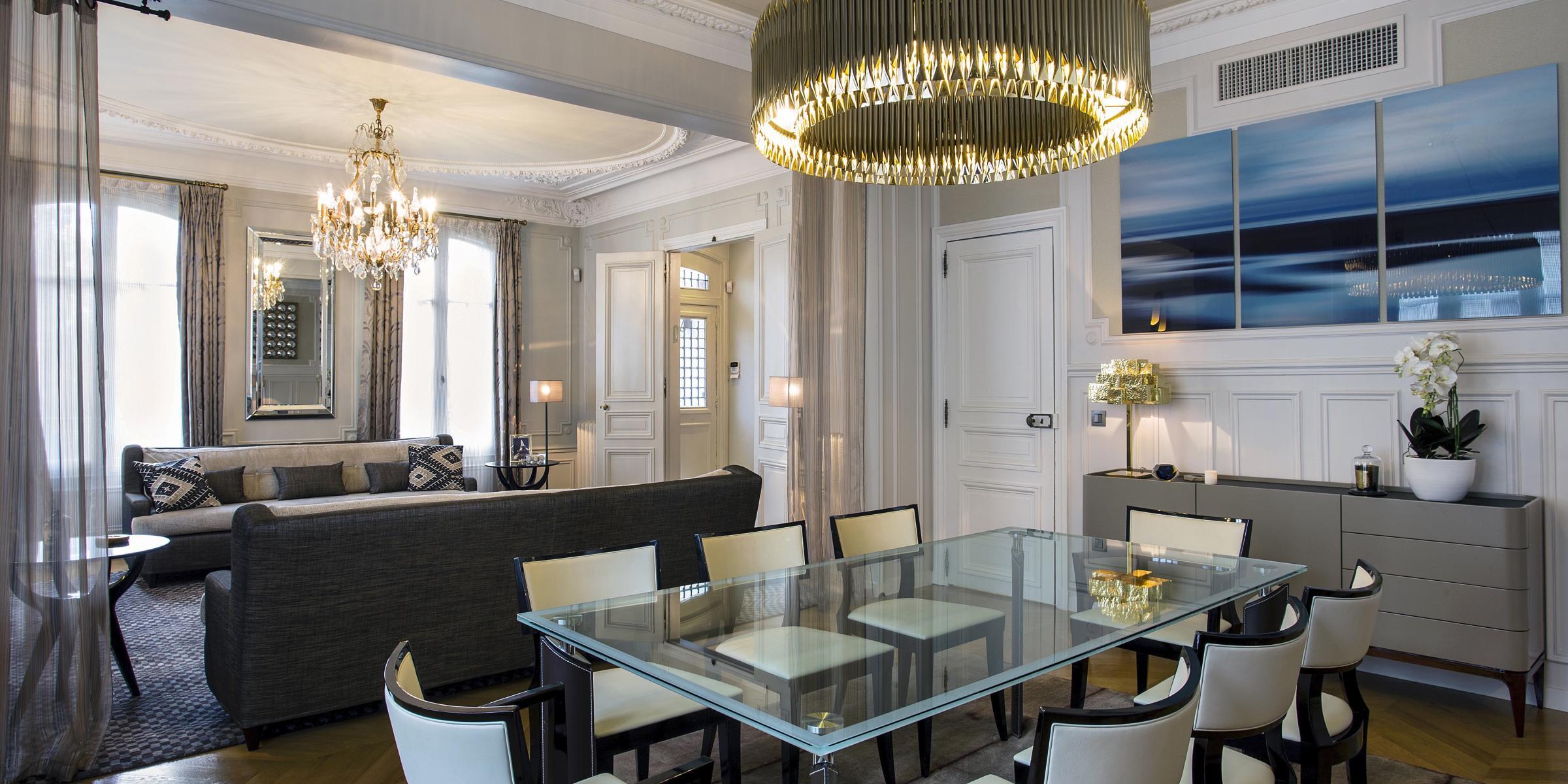intérieur Hôtel particulier