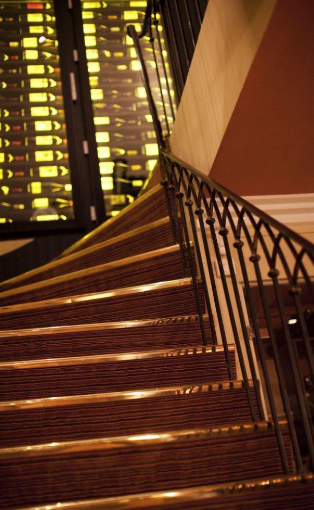escalier Restaurant L'Arôme