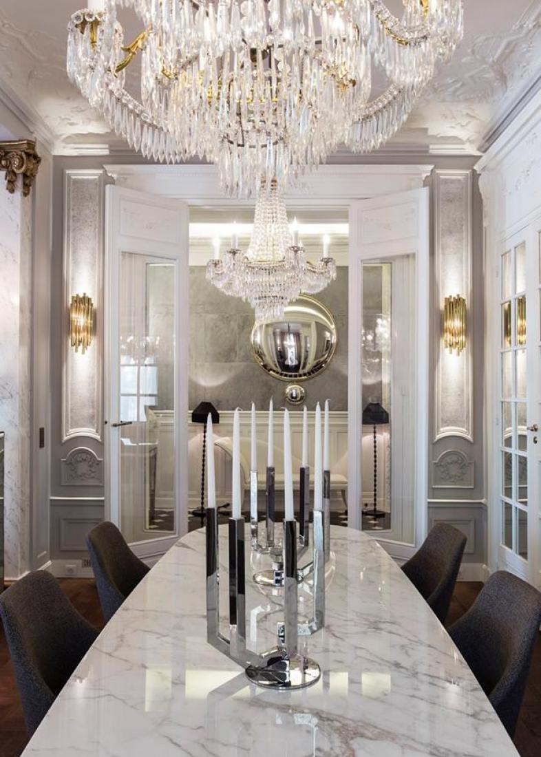 table marbre Résidence Alma