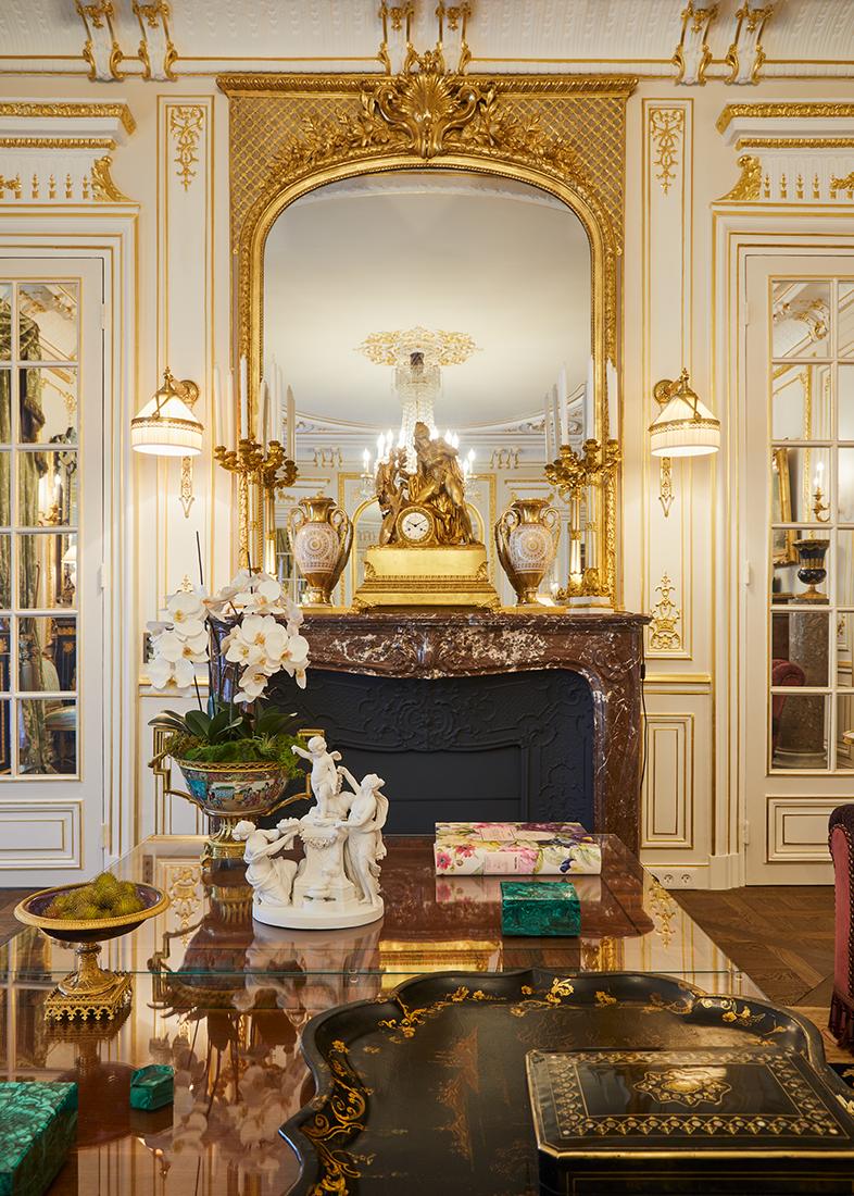 Olivier Berni Intérieurs agence décoration Paris architecture intérieure François 1er France 5
