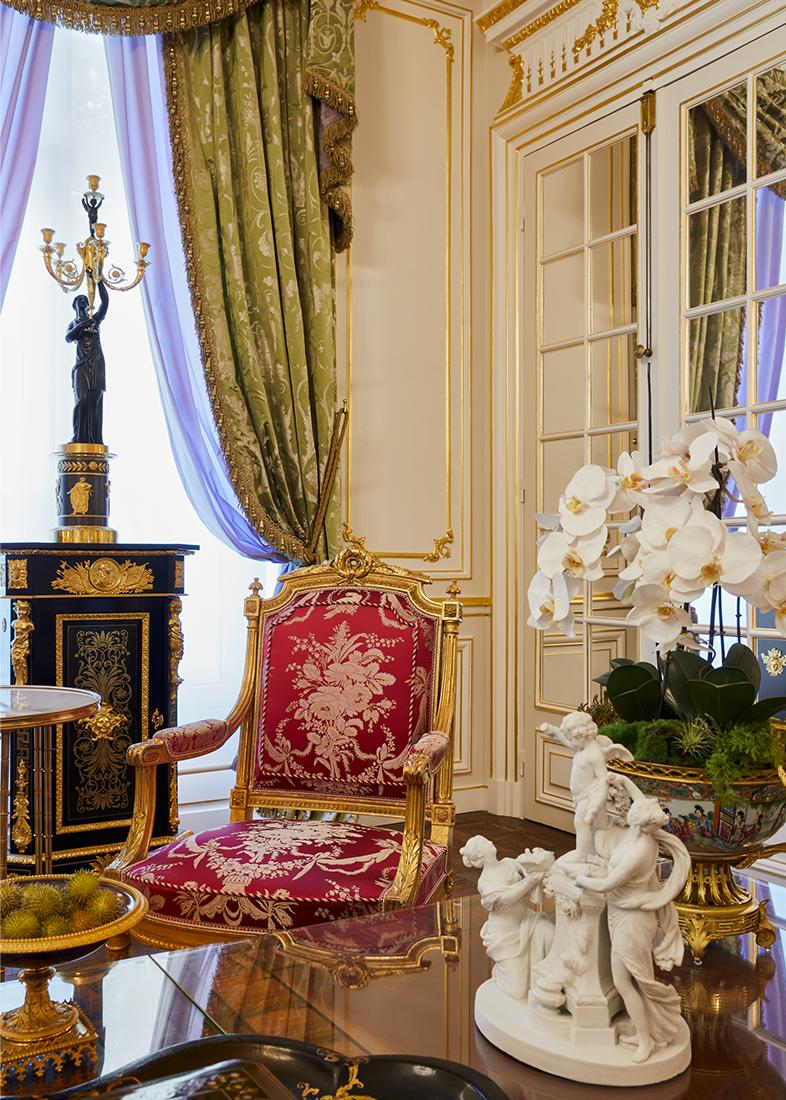 Olivier Berni Intérieurs agence décoration Paris architecture intérieure François 1er France 4
