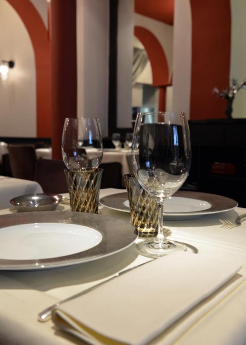 décoration de table Restaurant L'Arôme