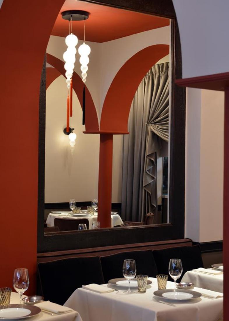 intérieur déco Restaurant L'Arôme