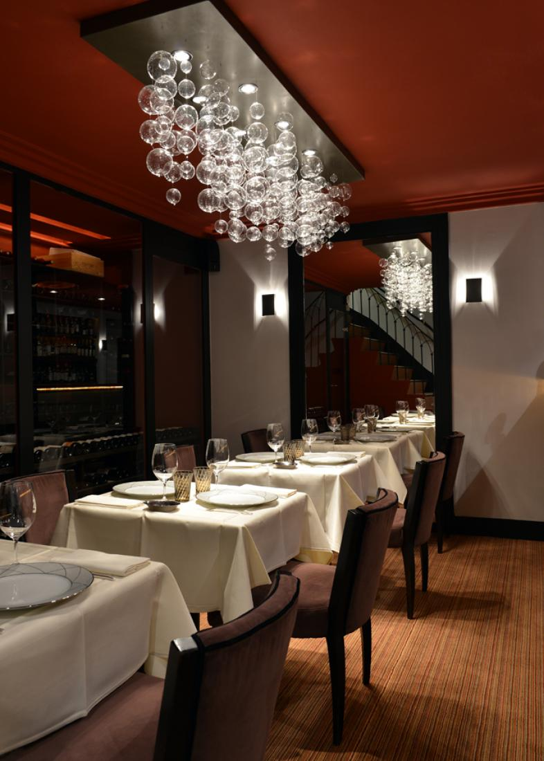 déco table Restaurant L'Arôme