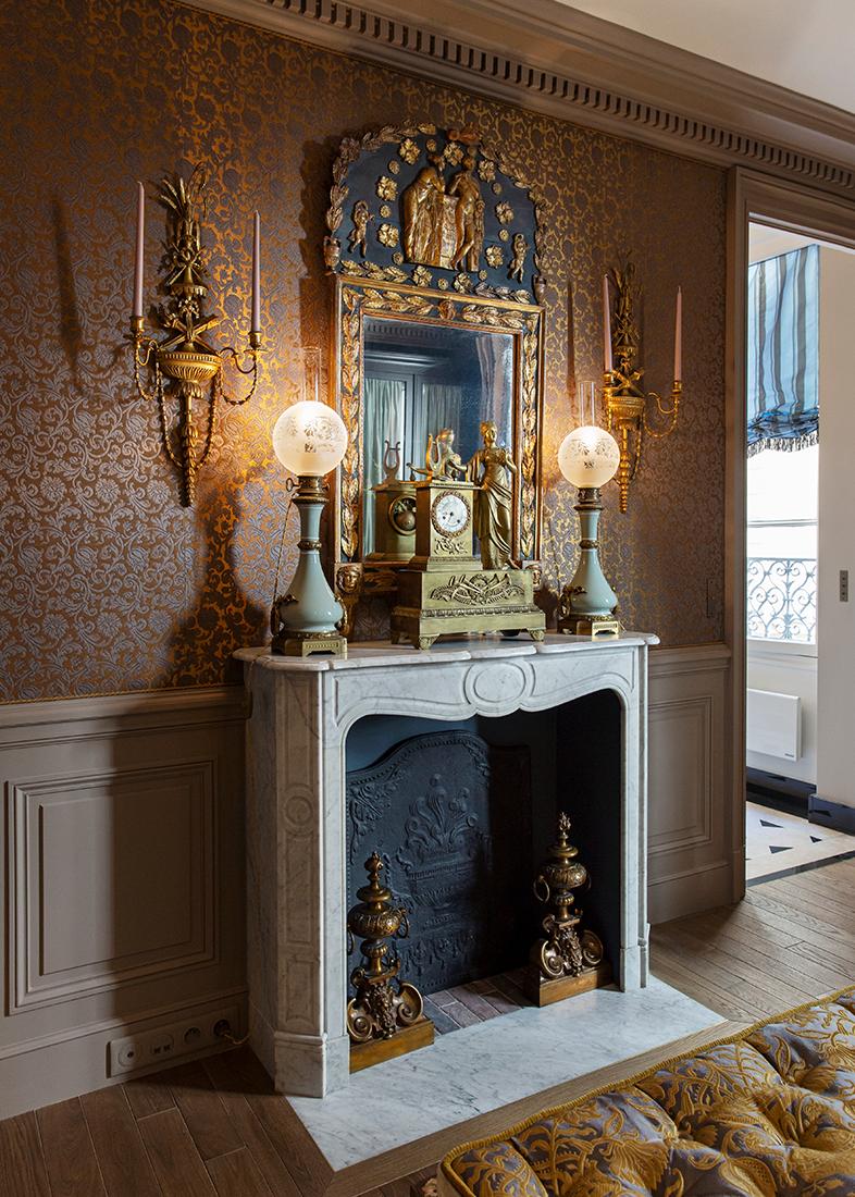 Olivier Berni Intérieurs agence décoration Paris architecture intérieure Saint sulpice paris France 17