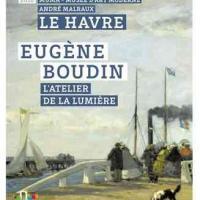 Eugène Boudin L'atelier de la lumière MUMA Le Havre exposition 1