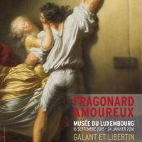 Jean Honoré Fragonard Fragonard Amoureux Musée du Luxembourg Paris 2015 2016