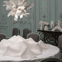 artiste Joan Sallas Sacred stiches Waddesdon Manor décoration intérieur