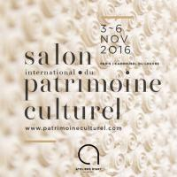 Salon International du Patrimoine Culturel 2016 Carrousel Paris 1