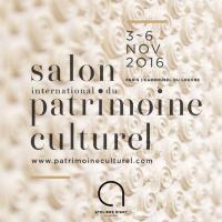 Salon International du Patrimoine Culturel 2016 Carrousel Paris 1