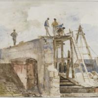 """"""" Dessiner en plein air """" exposition Musée du Louvre 1"""