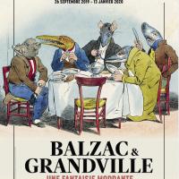 Expo Balzac & Granville une fantaisie mordante Paris 1