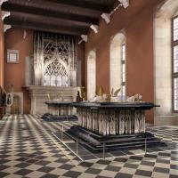 Salle des tombeaux des ducs de bourgogne musée de dijon