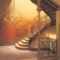 escalier décoration d'intérieur art nouveau