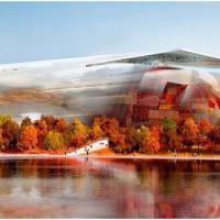 Museum national d'art de Chine par l'architecte nouvel