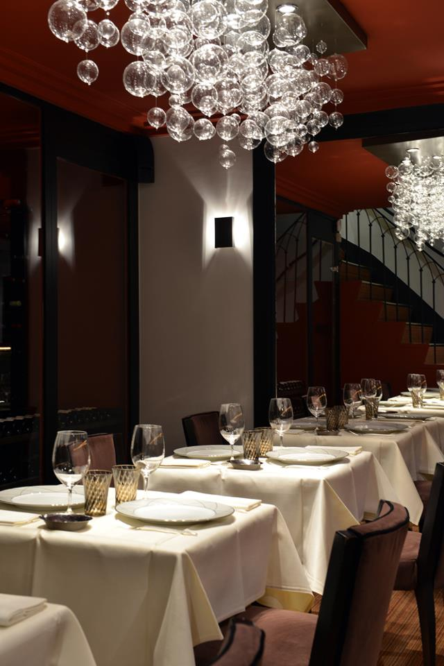 tables Restaurant L'Arôme